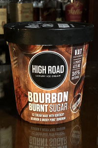 High Road Bourbon Burnt Sugar Ice Cream. Photo ©2018, Mark Gillespie/CaskStrength Media.