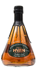 Spirit of Hven Tycho's Star Single Malt Whisky. Image courtesy Spirit of Hven.