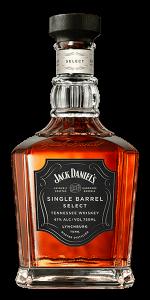 Jack Daniel's Single Barrel Select. Image courtesy Jack Daniel's/Brown-Forman.