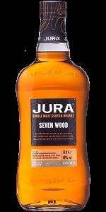 Jura Seven Wood. Image courtesy Jura/Whyte & Mackay.