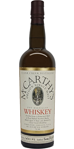 McCarthy's Oregon Single Malt. Image courtesy Hood River Distillers.