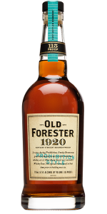 Old Forester 1920 Bourbon. Image courtesy Old Forester/Brown-Forman.