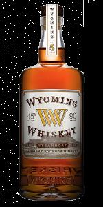 Wyoming Whiskey Steamboat Edition. Image courtesy Wyoming Whiskey.