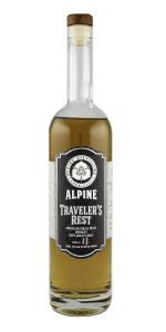 Alpine Distilling's Traveler's Rest Single Malt. Photo ©2018, Mark Gillespie/CaskStrength Media.