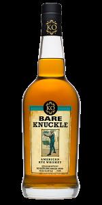 Bare Knuckle American Rye Whiskey. Image courtesy KO Distilling.