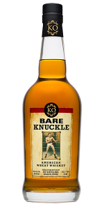 Bare Knuckle American Wheat Whiskey. Image courtesy KO Distilling.