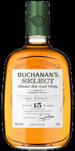 Buchanan's Select Blended Malt Scotch Whisky. Image courtesy Diageo.