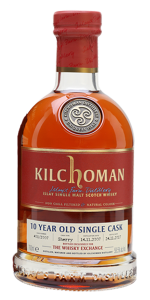 Kilchoman 2007 Single Sherry Cask. Image courtesy The Whisky Exchange/Speciality Drinks Ltd.