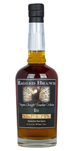Ragged Branch Straight Rye Bourbon. Image courtesy Ragged Branch Distillery.