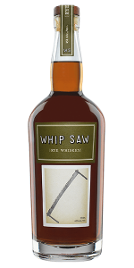 Whip Saw Rye Whiskey. Image courtesy The Splinter Group.