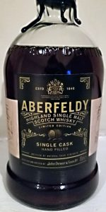 Aberfeldy 1999 Single Cask #3. Photo courtesy Holly Seidewand/Bacardi.