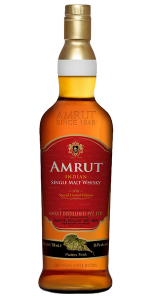 Amrut Madeira Cask Finish. Image courtesy Amrut Distilleries.