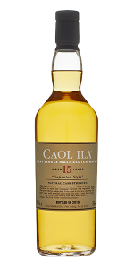 Caol Ila 15 Unpeated (2018 Edition). Image courtesy Diageo.