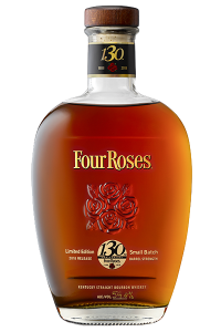 Four Roses 130th Anniversary Limited Edition Small Batch. Image courtesy Four Roses Distillery.