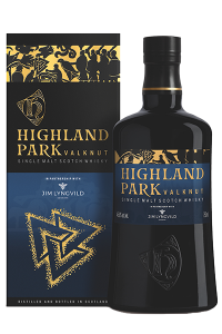Highland Park Valknut. Image courtesy Highland Park/Edrington.