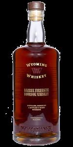 Wyoming Whiskey Barrel Strength Bourbon. Image courtesy Wyoming Whiskey.