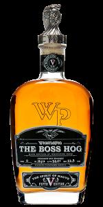 WhistlePig Rye The Boss Hog V: Spirit of Mauve. Image courtesy WhistlePig Farm.