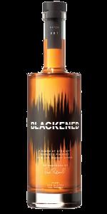 Blackened American Whiskey. Image courtesy Sweet Amber Distilling Company.