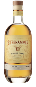 Deerhammer Rough & Tumble Corn Whiskey. Image courtesy Deerhammer Distilling.