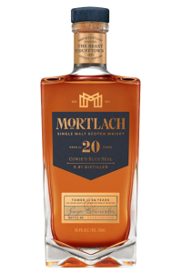 "Mortlach 20 ""Cowie's Blue Seal"" Single Malt Scotch Whisky. Image courtesy Diageo."