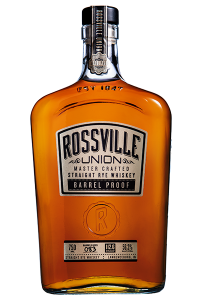 Rossville Union Master Crafted Barrel Proof Rye. Image courtesy MGP.
