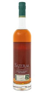 Sazerac Rye 18 2018 Edition. Image courtesy Buffalo Trace.