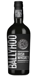 Ballyhoo Irish Whiskey. Image courtesy Connacht Whiskey Company.
