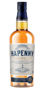 Ha'Penny Irish Whiskey. Image courtesy Pearse Lyons Distillery.