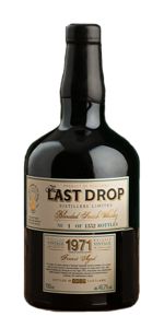 The Last Drop 1971 Blended Scotch Whisky. Image courtesy The Last Drop Distillers.