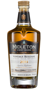 Midleton Very Rare 2018 Release. Image courtesy Irish Distillers.
