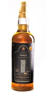 Amrut Amaze. Photo courtesy Single Malt Amateur Club India.