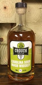 Crouch Carolina Sour Mash Whiskey. Image courtesy Crouch Distilling.