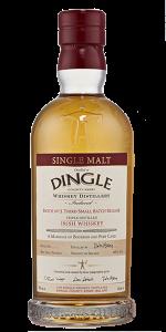 Dingle Single Malt Batch No. 3. Image courtesy Dingle Distillery.