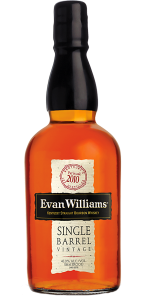 Evan Williams Single Barrel 2010 Edition. Image courtesy Heaven Hill Distillery.