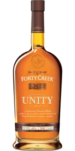 Forty Creek Unity Canadian Whisky. Image courtesy Forty Creek/Campari.