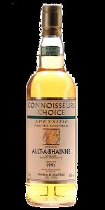 Gordon & MacPhail Connoisseur's Choice Allt-A-Bhainne 1991. Image courtesy Gordon & MacPhail.
