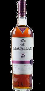 The Macallan 25. Image courtesy The Macallan/Edrington.