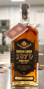 Nathan Green 1870 Single Barrel Tennessee Whiskey. Image courtesy Uncle Nearest Ltd.