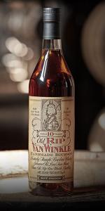 Old Rip Van Winkle 10 Year Old Bourbon. Image courtesy Old Rip Van Winkle Distillery.