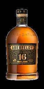Aberfeldy 16 Madeira Finish. Image courtesy Aberfeldy/John Dewar & Sons/Bacardi.