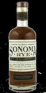 Sonoma Rye Whiskey. Photo ©2019, Mark Gillespie/CaskStrength Media.