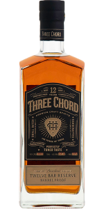 Three Chord Bourbon Twelve Bar Reserve. Image courtesy Steel Bending Spirits.