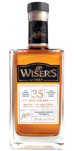 J.P. Wiser's 35 Years Old 2018 Edition. Image courtesy Corby Spirits & Wine.