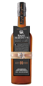 Basil Hayden's 10 Year Old Bourbon. Image courtesy Beam Suntory.