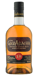 The Glenallachie 18. Image courtesy The Glenallachie Distillery Company.