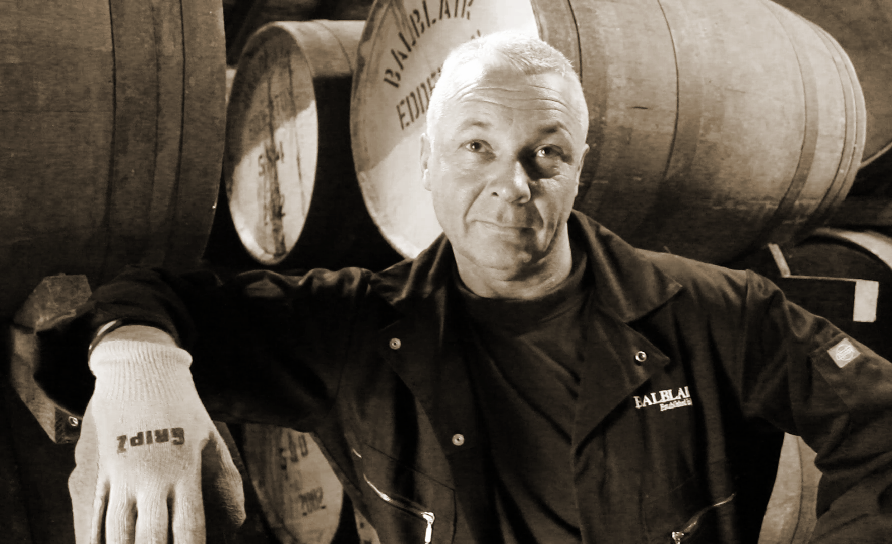 Our Whisky Photo of the Week honors Martin Macdonald of Scotland's Balblair Distillery, who celebrated his 40th anniversary on the job this week. You can meet Martin and the rest of the Balblair team in our WhiskyCast HD story shot at Balblair in 2011.