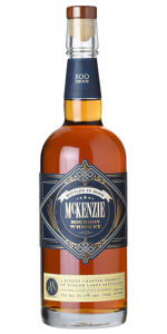 McKenzie Bottled in Bond Bourbon. Image courtesy Finger Lakes Distilling.