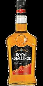 Royal Challenge Whisky. Image courtesy Diageo.