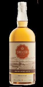 Shelter Point Montfort District Lot 141 Single Malt. Image courtesy Shelter Point Distillery.