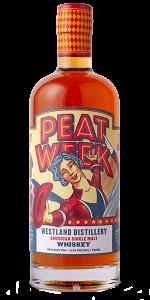 Westland Fifth Annual Peat Week single malt whisky. Image courtesy Westland Distillery.